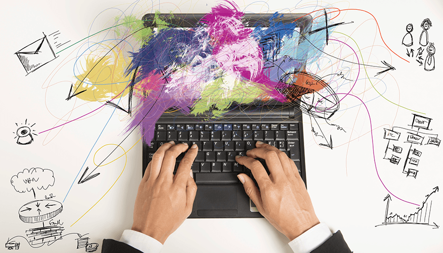 Thinkstock Hands Laptop Image