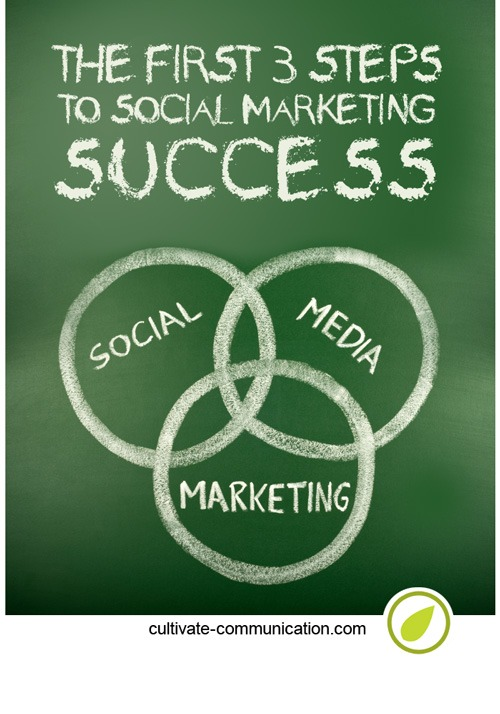 {The First 3 Steps to Social Marketing Success}