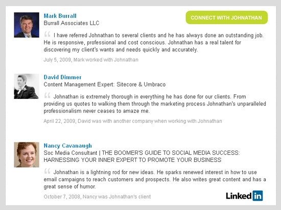 LinkedIn Endorsements vs. Recommendations by Cultivate Communications