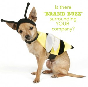 Marketing Dog In Bee Costume