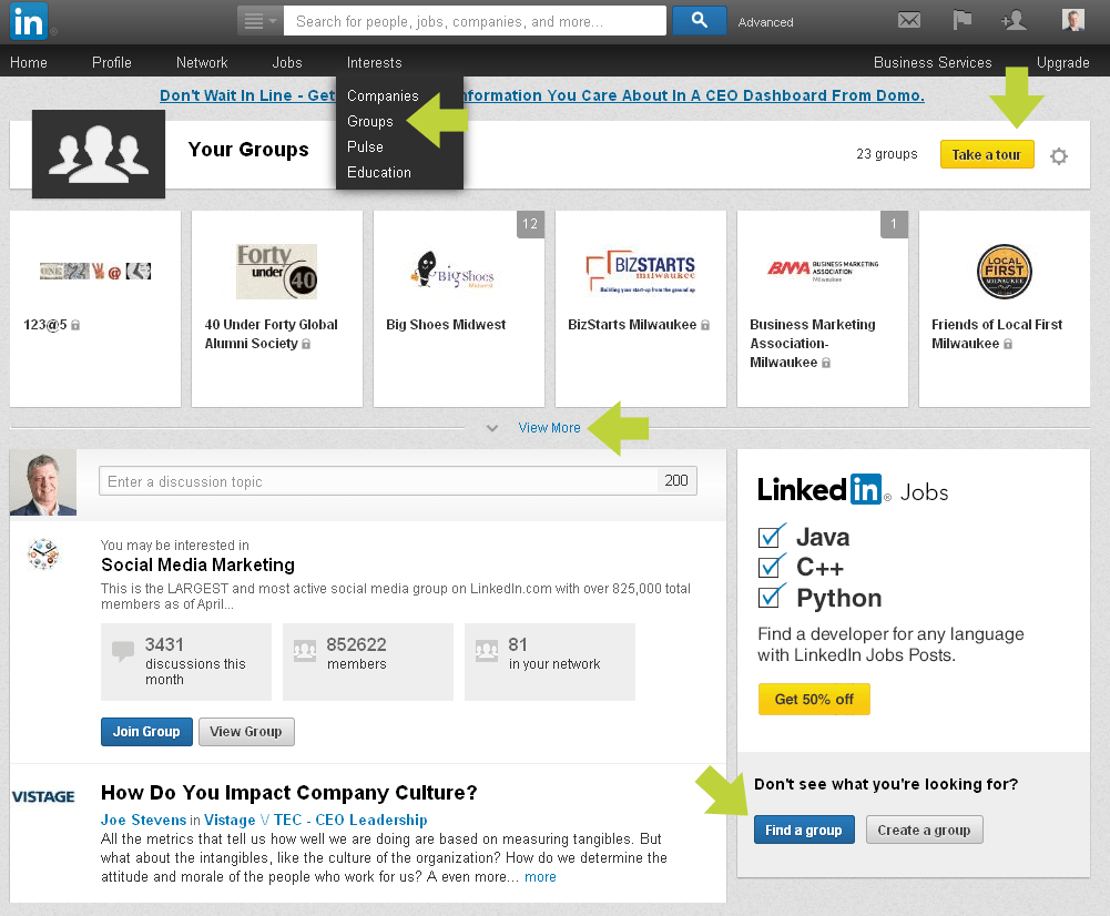 LinkedIn Groups: How to get started...