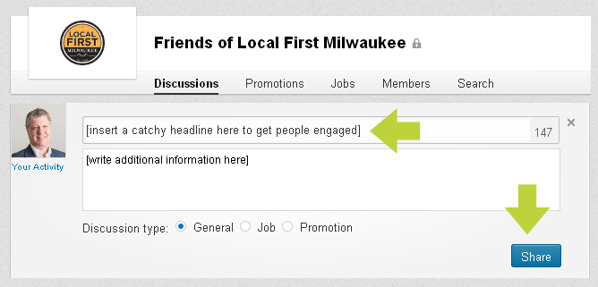 LinkedIn Groups: Participation is key!