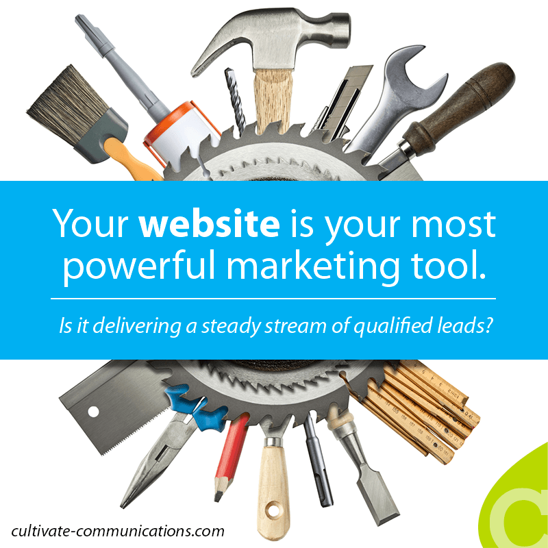 Your website is your most powerful marketing tool. It should be a lead-generation machine: a hotbed of activity, delivering a steady stream of qualified leads to your sales team...or it can just sit there and stagnate.