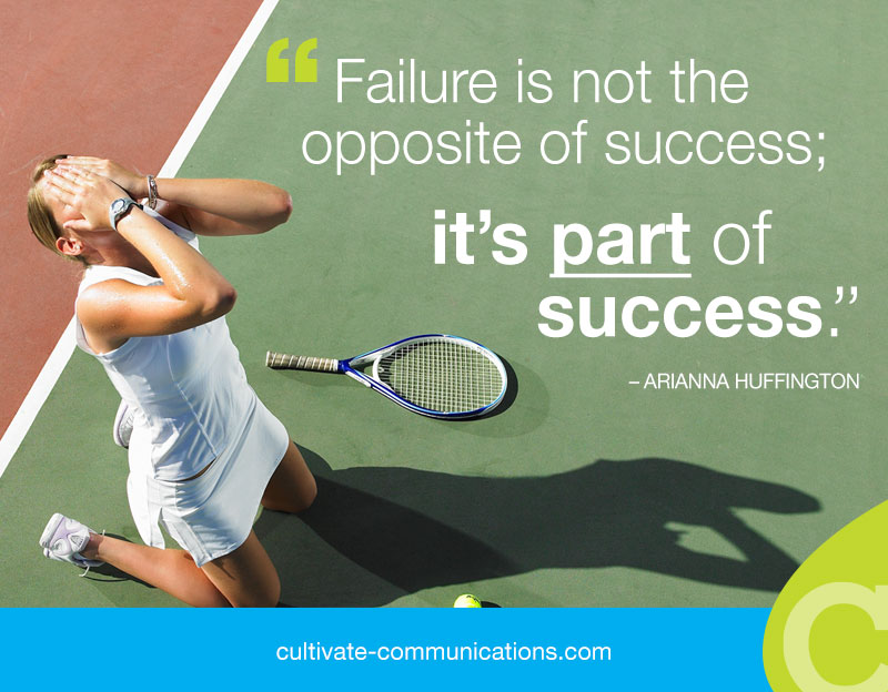 failure creates success