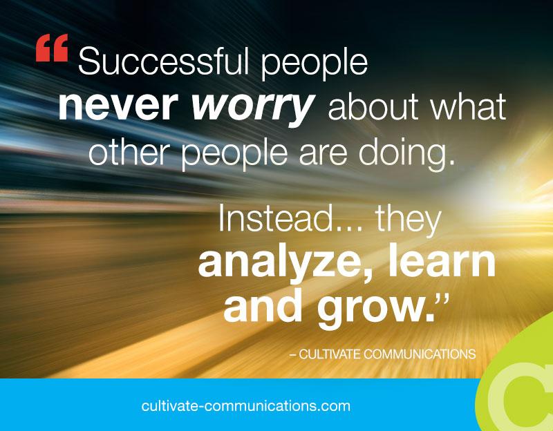 Analyze, Learn, Grow