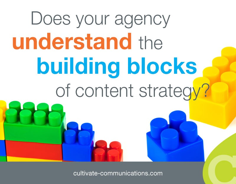 Building Blocks Of Content Strategy