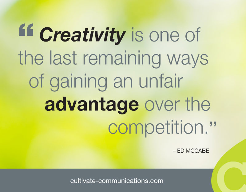 Creativity and competition