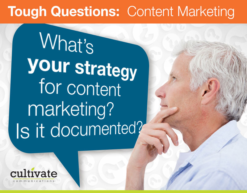 documented content marketing strategy