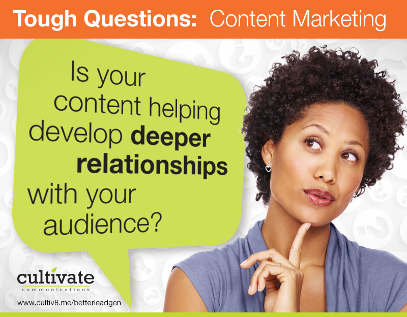 Content And Audience Relationship Building