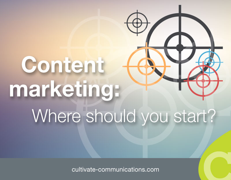 content marketing - where should you start