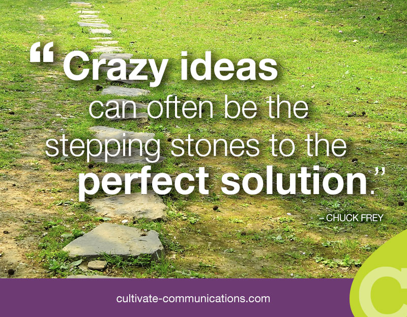 crazy ideas - creativity