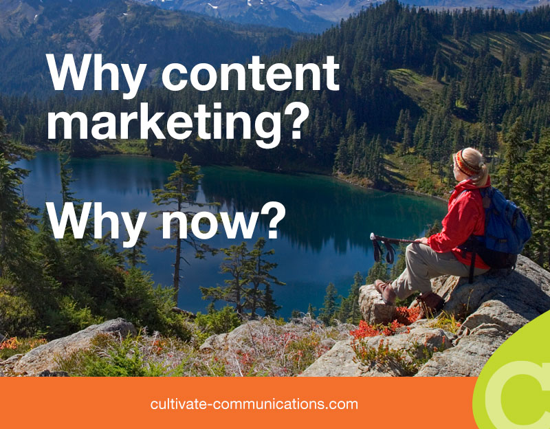 Why content marketing? Why now?