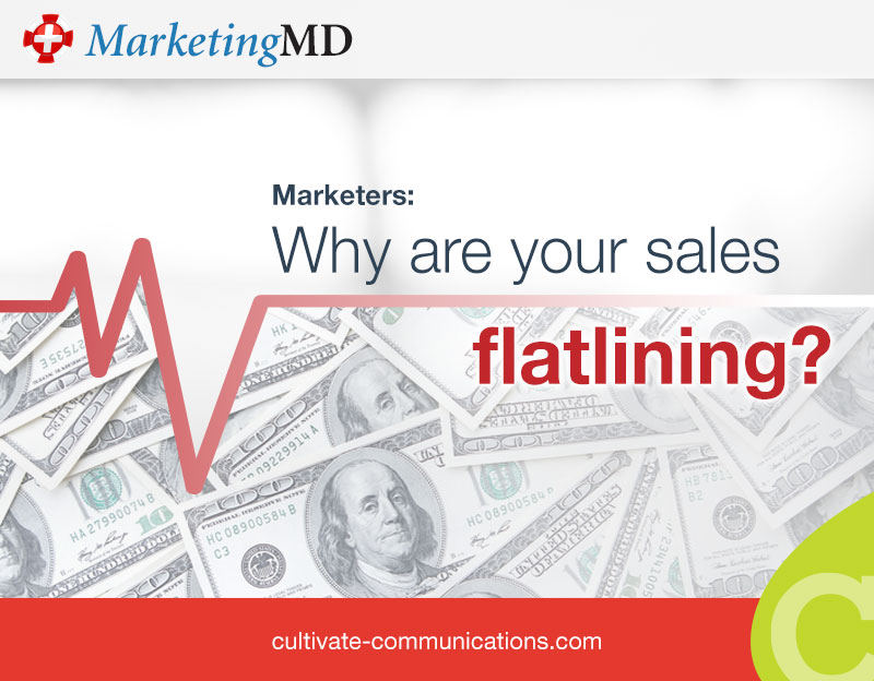 Marketers: Why are your sales flatlining?