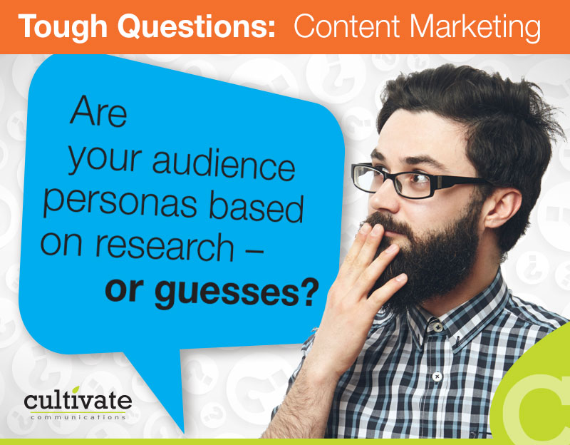 "Don't assume you ""know"" what motivates your target audience"