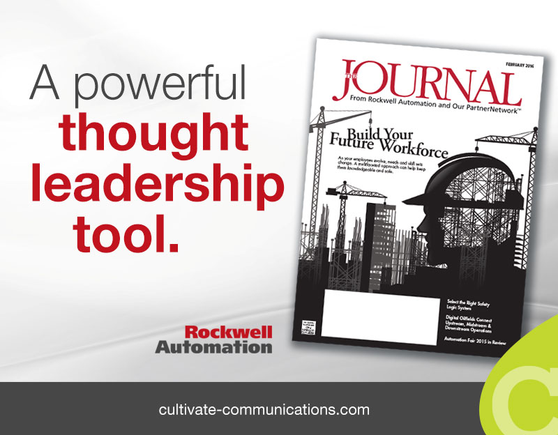 Rockwell Automation Magazine Thought Leadership Content Marketing