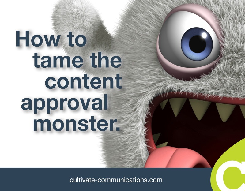 How to tame the content approval monster