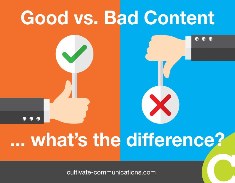 Good vs. bad content – what's the difference?