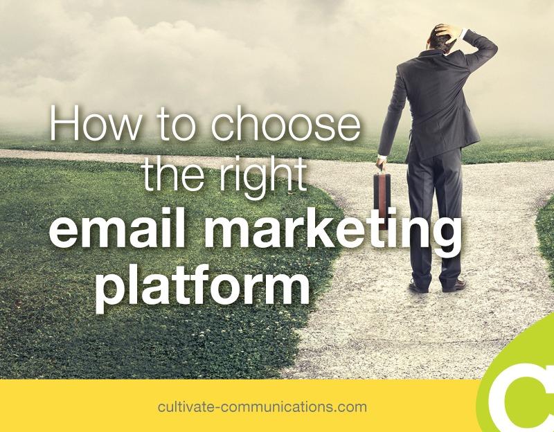 Choosing Email Platform