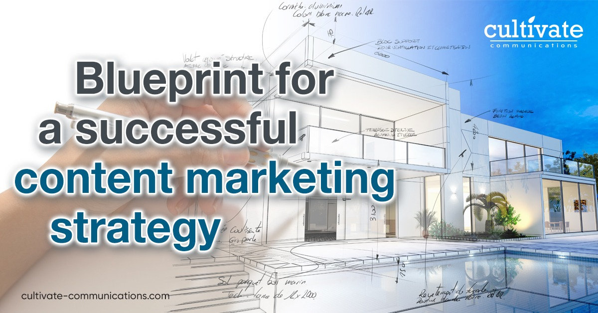 Blueprint for a successful content marketing strategy