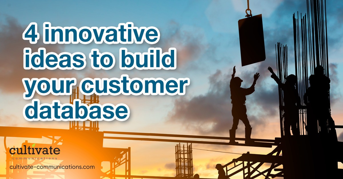 4 Innovative Ideas to Build Your Customer Database