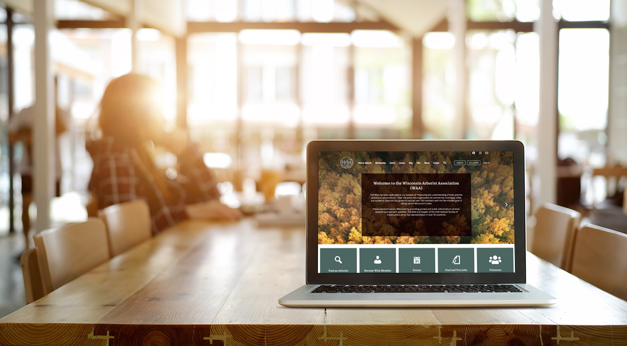 Wisconsin Arborist Association Website